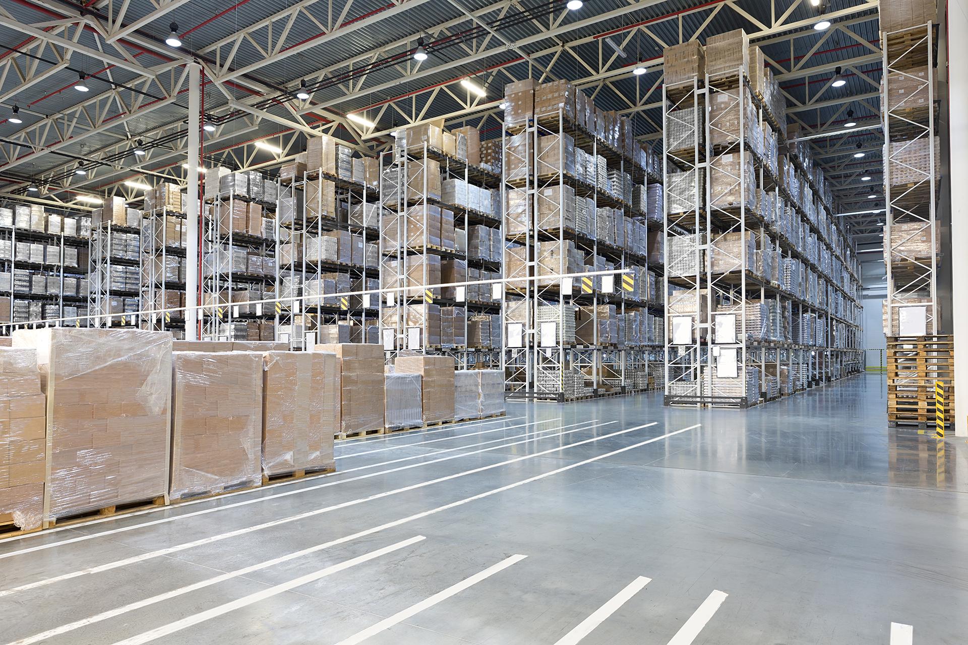 Warehouse Pallet-Racking System