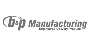 B&P Manufacturing Logo