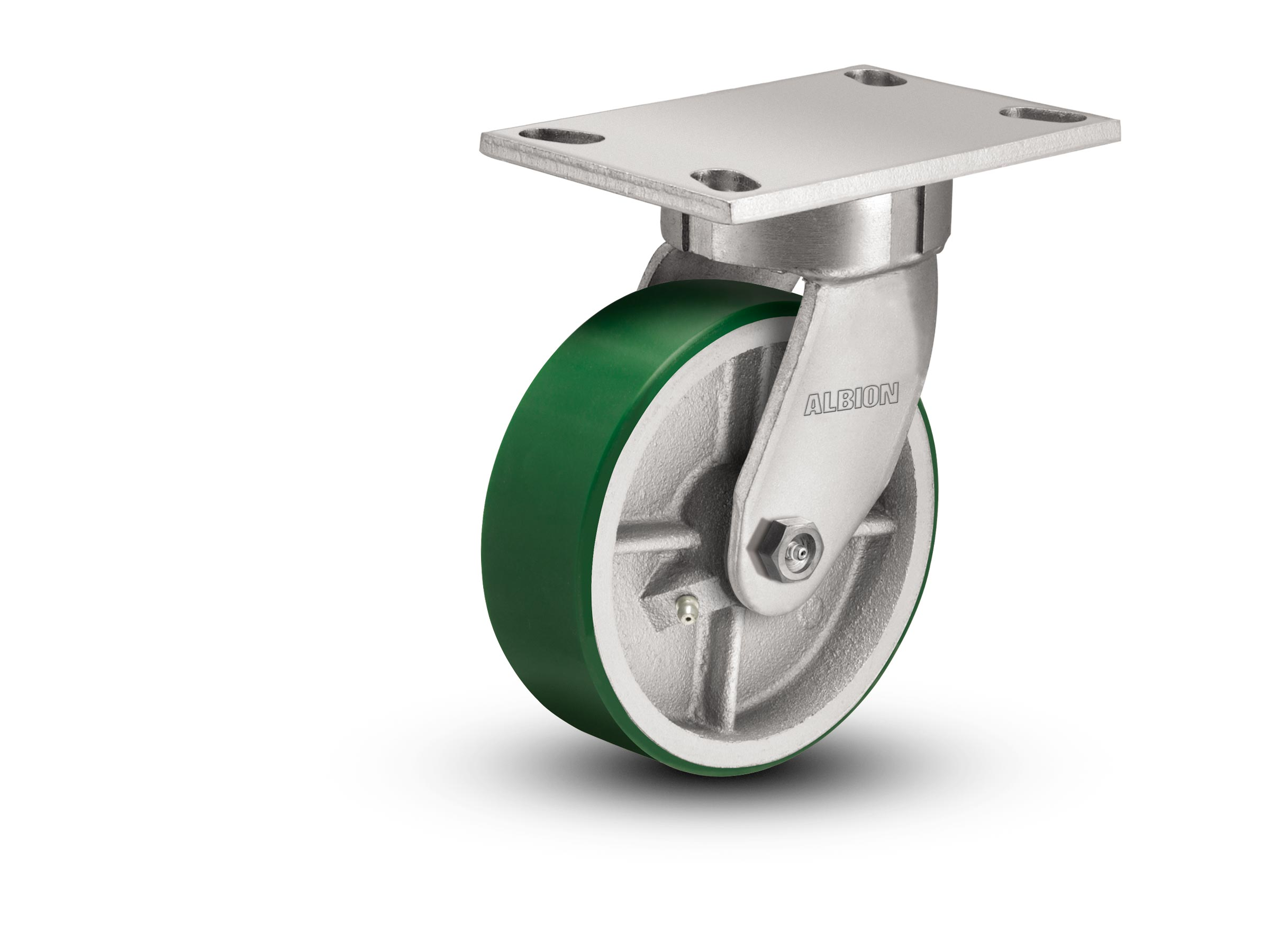 polyurethane wheel on aluminum core