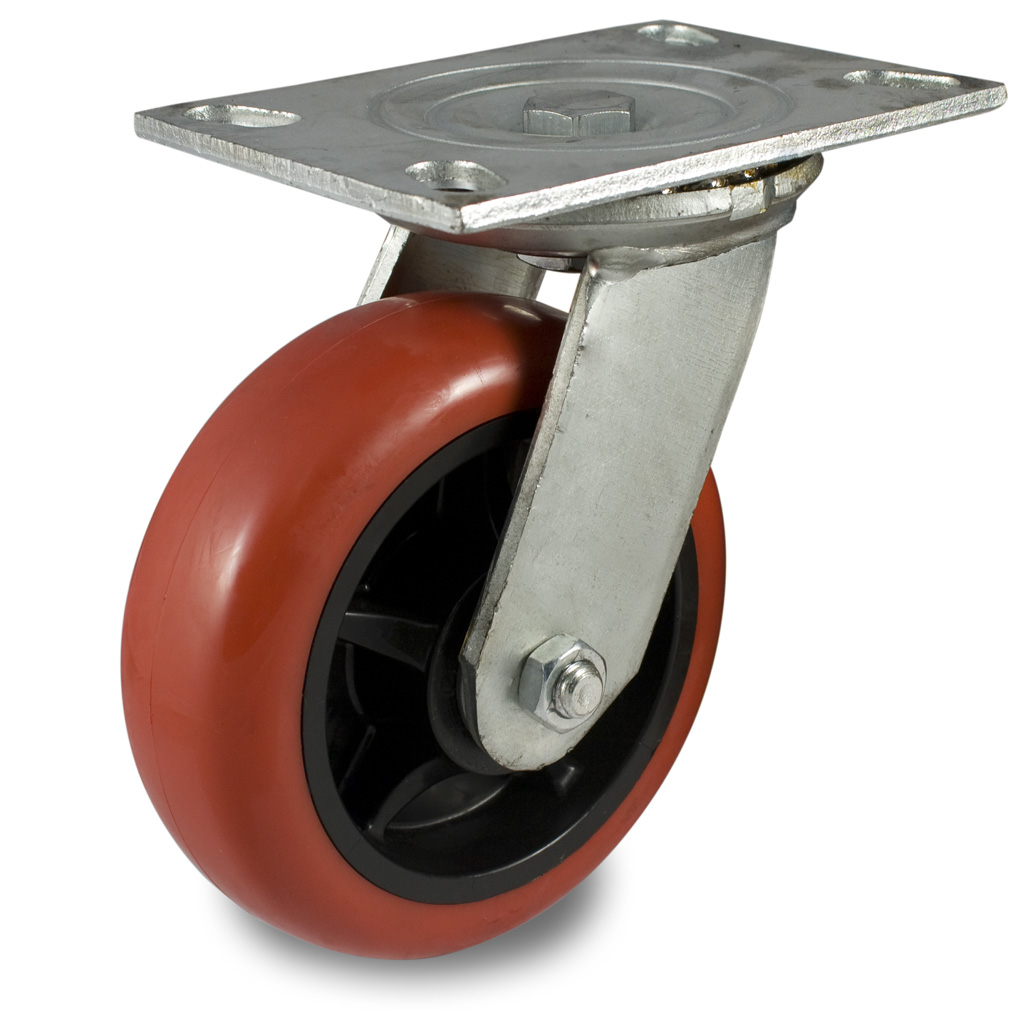 44 Series Medium-Duty Industrial Casters