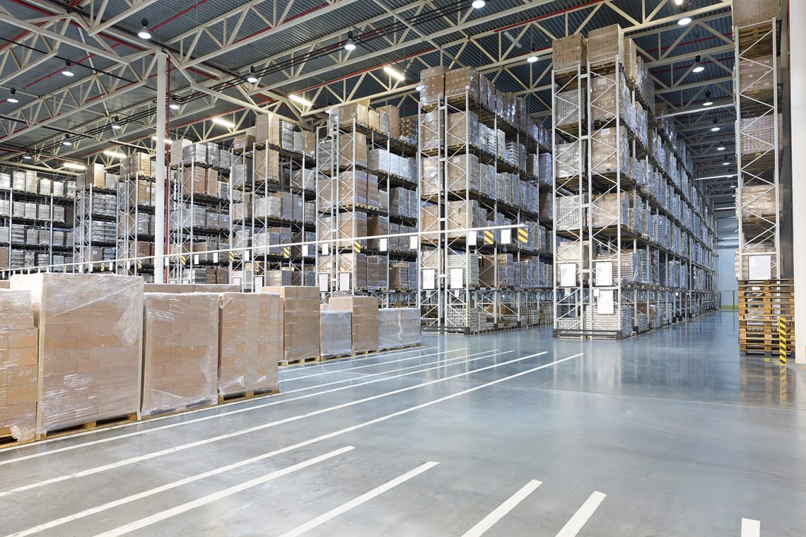 Warehouse Pallet-Racking System